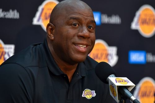Magic Johnson Steps Down as the Lakers President of Basketball Operations
