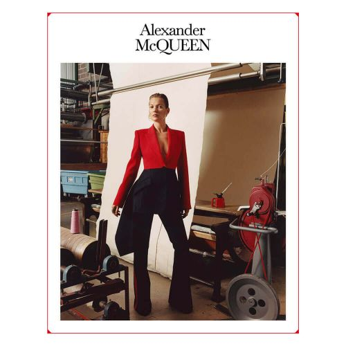 Kate Moss Gives A Lesson In Posing In The New Alexander McQueen Campaign