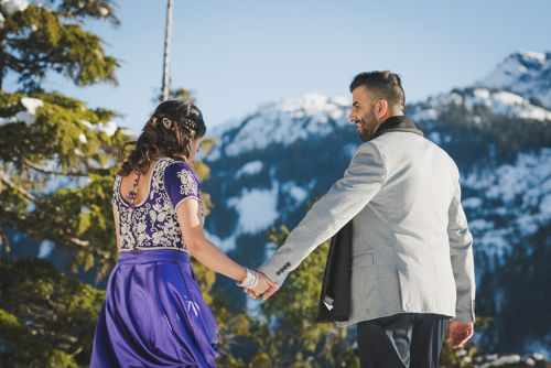 Harleen + Dave Vancouver E-Session Photography by Van Weddings