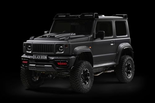 """WALD Releases a Rugged """"Black Bison"""" Kit for the Suzuki Jimny"""