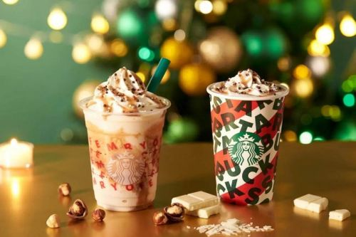 Starbucks Japan Readies Nutty White Chocolate Frappuccino for Christmas