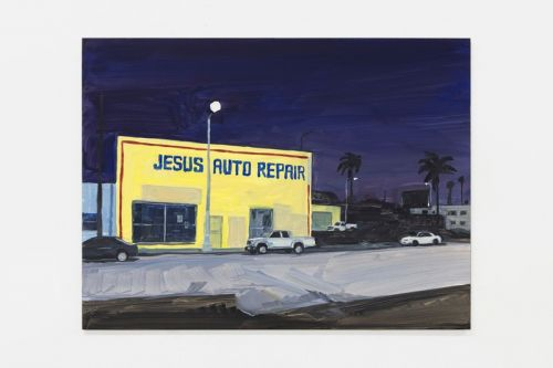 "Jean Philippe Delhomme Translates ""Los Angeles Language"" in New Landscape Paintings"
