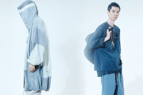 ANEI SS21 Blends Technical Craft and Traditional Silhouettes