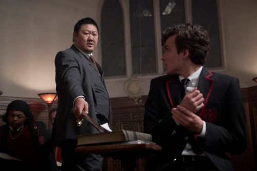 "How Benedict Wong prepped for assassin school in ""Deadly Class"""