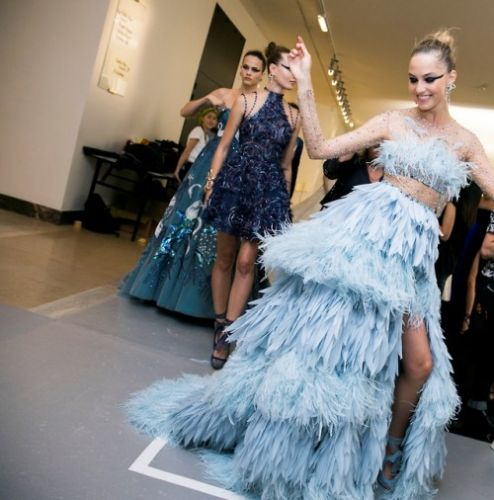 The GEORGES HOBEIKA Haute Couture Spring Summer 2019 fashion