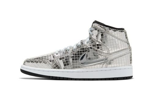 "Air Jordan 1 Mid ""Disco Ball"" Keeps It Funky"