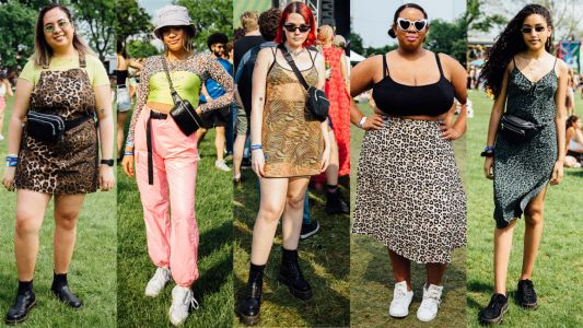 Leopard Print Was a Festival Fashion Essential at the 2019 Governors Ball