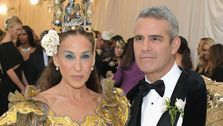 Sarah Jessica Parker And Andy Cohen Mark Met Gala Monday With Masked Selfie