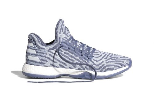 The adidas Harden Vol. 1 LS Gets Dipped in Pale Blue