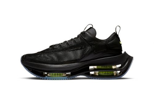 """Nike Zoom Double Stacked Appears in """"Black/Volt"""""""