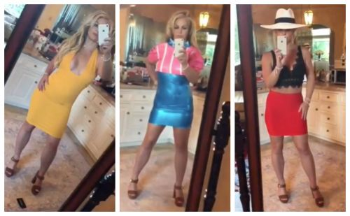 Britney Spears Puts on a Mini Fashion Show With 5 Killer Outfit Changes - Watch!