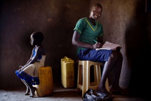 THE GIRLS OF SOUTH SUDAN