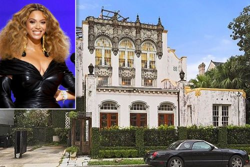 New Orleans mansion reportedly owned by Beyoncé catches fire