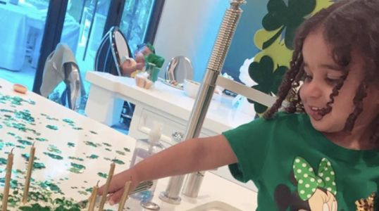 Dream Kardashian Throws Daddy Rob a Birthday Party With a St. Paddy's Day Flair!