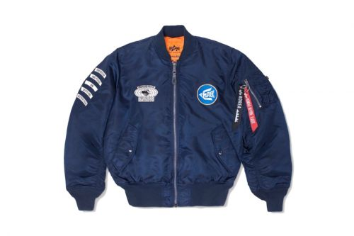 Alpha Industries & Paradise Youth Club Reimagine the Iconic MA-1 Flight Jacket