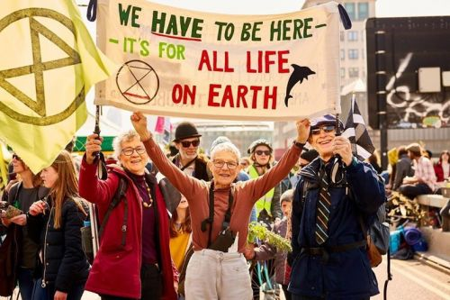 Climate change protesters intend to 'pause' their London rebellion