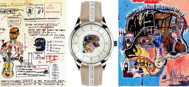 DAEM and Basquiat Estate collaboration reimagines luxury watches with line that tells more than time