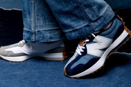 Levi's Brings Denim Touches to the New Balance 327