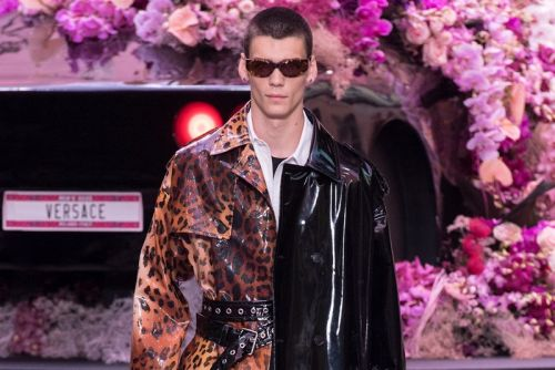 "Versace's SS20 Collection Showcases ""Contemporary Masculinity"""