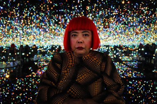 Yayoi Kusama's artworks have hit the Vegas Strip
