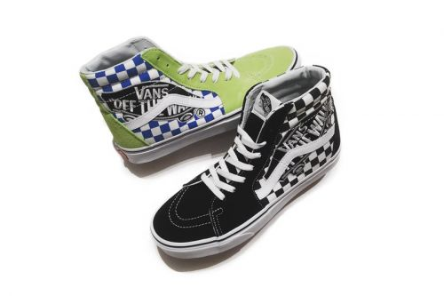 "The Vans Authentic & SK8-HI Gets Oversized ""OTW"" Patches"
