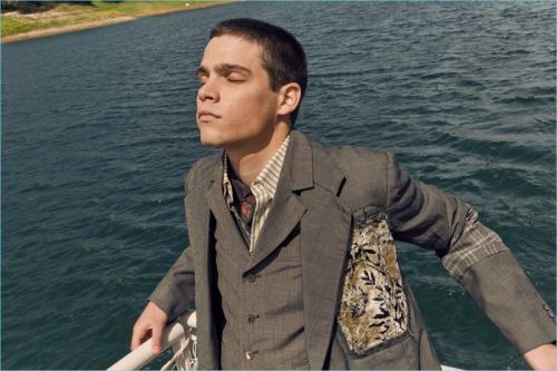 Federico Spinas Visits Sardinia for Antonio Marras Fall '18 Campaign