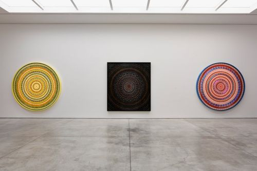 """Damien Hirst Reflects on Beauty & Mortality in """"Mandalas"""" Exhibition"""