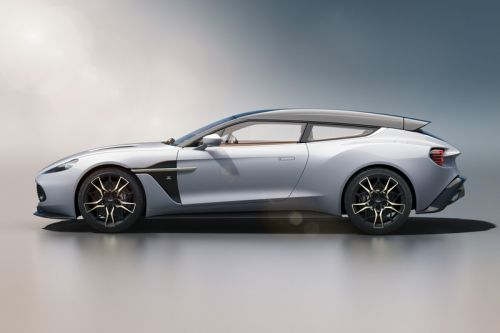Aston Martin Shares New Images of Its Vanquish Zagato Shooting Brake
