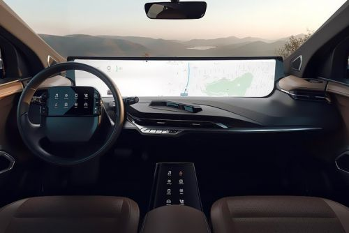 This Telsa Competitor Utilizes a 48-Inch Dashboard Screen