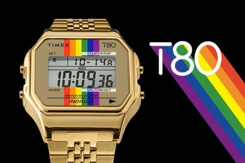 Timex to Release Its T80 With Rainbow Accents