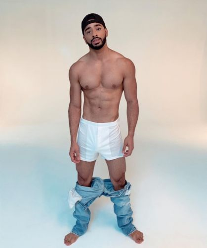 Model Laith Ashley on his grooming regime and trans male visibility