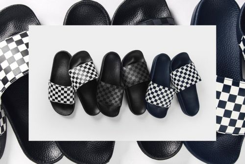 Vans Drops Checkerboard Slides in Three Prints