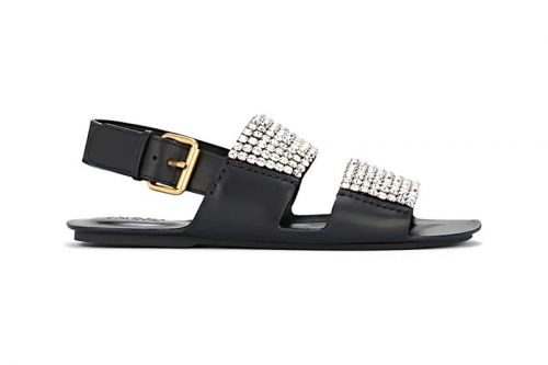Close Out Summer in Gucci's Luxe $1,850 USD Crystal-Embellished Sandals