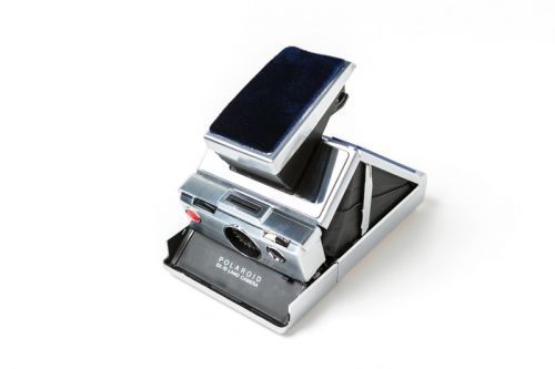 Sacai & Polaroid Originals to Release Limited Edition SX-70 Foldable Camera