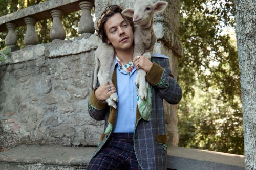 Gucci & Harry Styles Head to Italy for Cruise 2019 Tailoring Campaign
