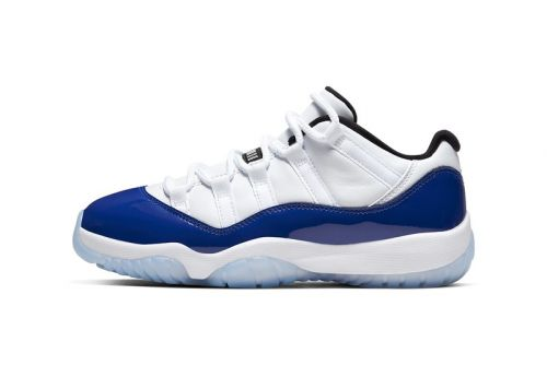 "Air Jordan 11 Low ""Concord Sketch"" Gets Official Look and Release Date"