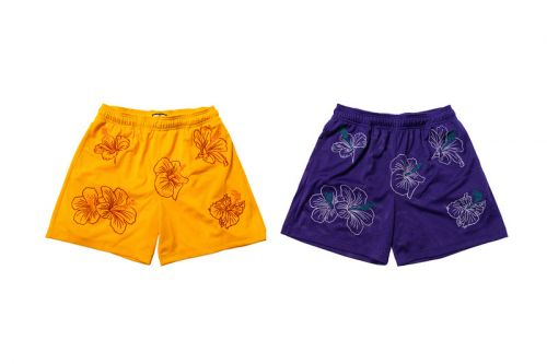 Eric Emanuel & New York Sunshine to Drop Floral Embroidered Shorts