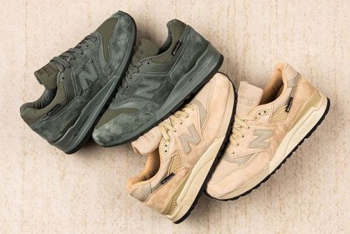 New Balance Applies Cut & Abrasion Resistant SuperFabric to the 997 & 998