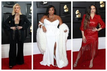 Our Favorite Fashion Looks From The 2020 Grammys Red Carpet