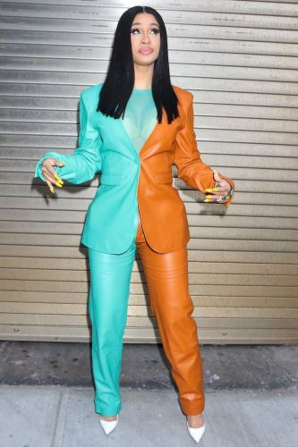 Cardi B's Half 'n' Half Suit Is My New Obsession, TBH