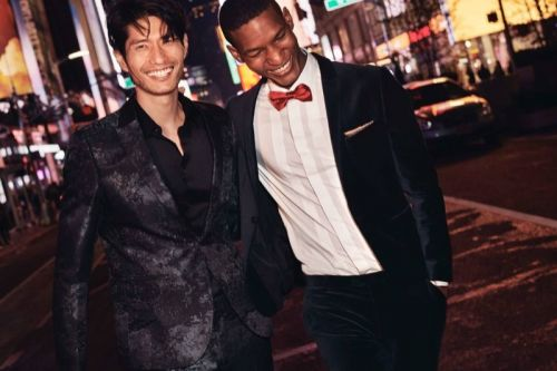 Brad Allen & Daniel Liu Are 'Party Perfect' for H&M