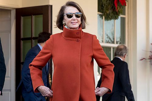 Nancy Pelosi's red coat sparks Max Mara revival