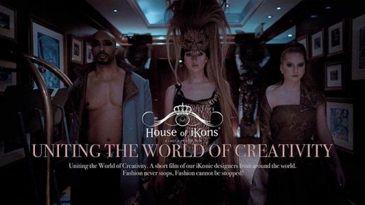 House of iKons Fashion Week London February 2021 - 'Uniting the World of Creativity'