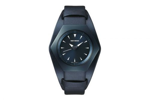 Issey Miyake Reissues Konstantin Grcic's Geometric Watch Design in Limited Edition Navy
