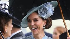 Kate Middleton Shines In A Bold And Blue Look For The Royal Ascot