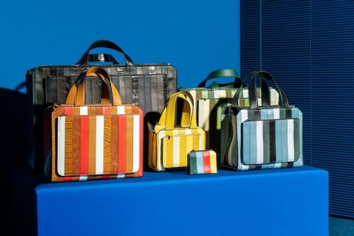 """SUNNEI Unveils VALEXTRA """"EXTRAMILANO"""" Bag Collab Inspired by Russian Nesting Dolls"""