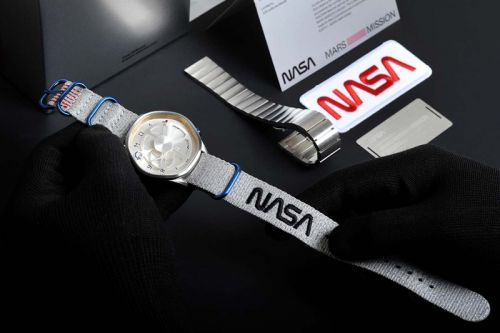NASA and Anicorn Celebrate Mars Mission With Special Edition Watch