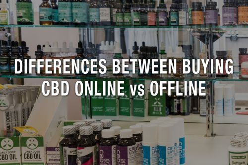 Differences Between Buying CBD Online vs Offline