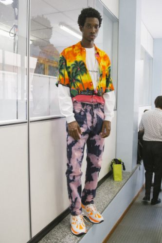 MSGM's SS19 menswear collection is a love letter to 90s Milan