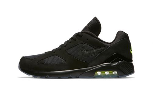"""Nike Air Max 180 Gets the """"Night Ops"""" Treatment"""